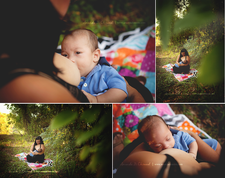 Jacksonville FL Breastfeeding Photographer