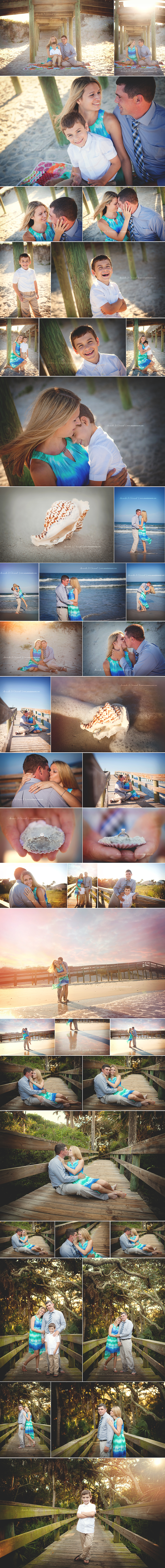 Jacksonville Beach, FL Engagement Photographer